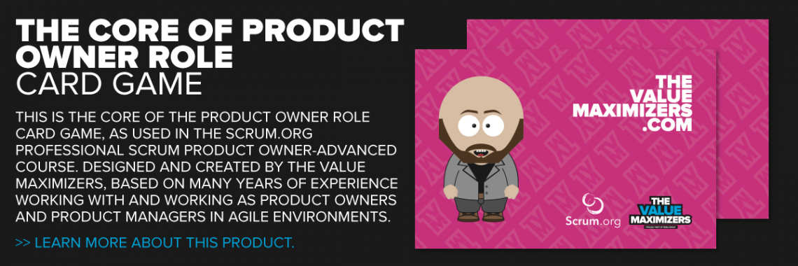 PSPO-A Core of the Product Owner Role Card Game